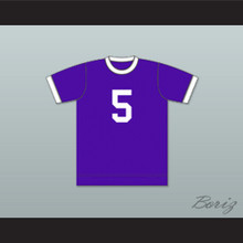 Miami Gatos Football Soccer Shirt Jersey Purple