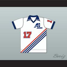 Montreal Manic Football Soccer Shirt Jersey White