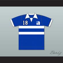 Philadelphia Atoms Football Soccer Polo Shirt Jersey Blue