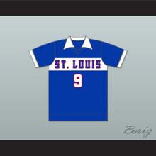 St Louis Stars Football Soccer Shirt Jersey Blue