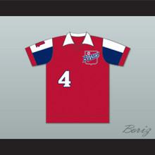 Toronto Blizzard Football Soccer Shirt Jersey Red