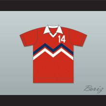 Toronto Metros Football Soccer Shirt Jersey Red