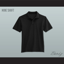 Men's Solid Color Mine Shaft Polo Shirt