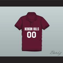 Derek Hale 00 Beacon Hills Cyclones Polo Shirt Teen Wolf