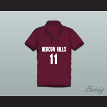Scott McCall 11 Beacon Hills Cyclones Polo Shirt Teen Wolf