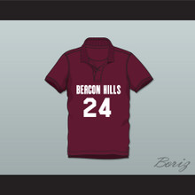 Stiles Stilinski 24 Beacon Hills Cyclones Polo Shirt Teen Wolf
