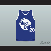20 Tournament Shoot Out Bombers Basketball Jersey Above The Rim