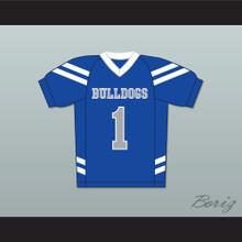 Bella Dawson 1 Bulldogs School Football Jersey