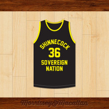 ODB Ol' Dirty Bastard 36 Shinnecock Sovereign Nation Jersey by Morrissey&Macallan