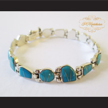 P Middleton Turquoise Bracelet Sterling Silver .925
