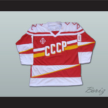 Pavel Bure 10 Russian CCCP Replica Hockey Jersey