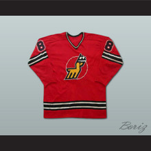 Danny Gruen Michigan Stags Hockey Jersey