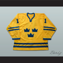 Daniel Alfredsson World Cup Team Sweden Team Hockey Jersey