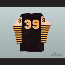 Ed Turek CFL Hamilton Tiger Cats Hockey Jersey