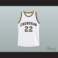 Omar Epps Quincy McCall 22 Crenshaw High School Basketball Jersey Love and Basketball