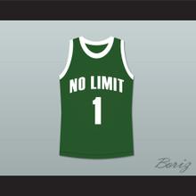 Master P 1 No Limit Basketball Jersey Green