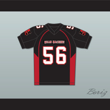 56 Lutter Mean Machine Convicts Football Jersey Includes Patches