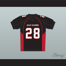 28 Lewis Mean Machine Convicts Football Jersey