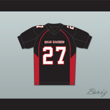 27 Pederson Mean Machine Convicts Football Jersey