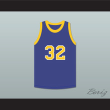 Air Gordon 32 Blue Basketball Jersey Martin