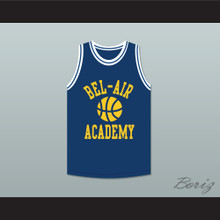 Bel-Air Academy Blue Practice Basketball Jersey
