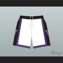The 6th Man Huskies White Basketball Shorts