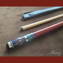 Boriz Billiards Cue Stick Original Inlay Artwork 049