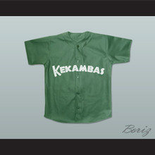 Andre 7 Kekambas Baseball Jersey Hardball Dark Green New