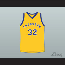 Monica Wright 32 Crenshaw High School Yellow Basketball Jersey Love and Basketball
