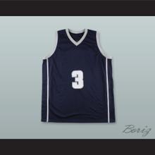Allen Iverson 3 College Basketball Jersey