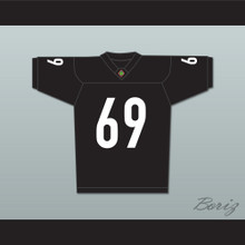 Andrew Bryniarski Patrick 'Madman' Kelly 69 Miami Sharks Football Jersey Any Given Sunday Includes AFFA Patch