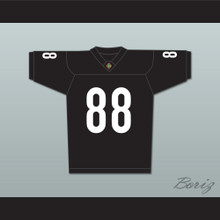 Bill Bellamy Jimmy Sanderson 88 Miami Sharks Football Jersey Any Given Sunday Includes AFFA Patch