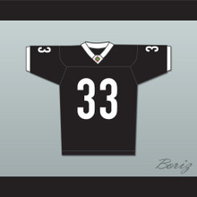 Julian Washington 33 Miami Sharks White Trim Football Jersey Any Given Sunday Includes AFFA Patch
