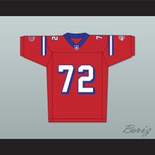 Faizon Love Jamal Jackson 72 Washington Sentinels Home Football Jersey The Replacements Includes League Patch 2