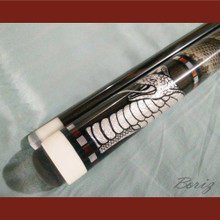 Boriz Billiards Snakeskin Grip Pool Cue Stick Cobra Elite Series