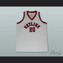 Gary Payton 20 Skyline High School Basketball Jersey White