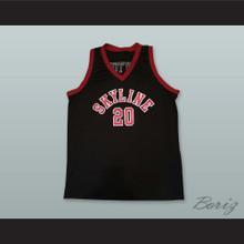 Gary Payton 20 Skyline High School Basketball Jersey Black