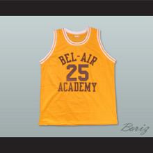 The Fresh Prince of Bel-Air Alfonso Ribeiro Carlton Banks Bel-Air Academy Home Basketball Jersey