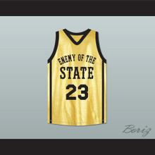 Marvin Collins Stretch 23 Enemy Of The State Basketball Jersey Crossover