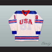 Team USA 70's Hockey Jersey