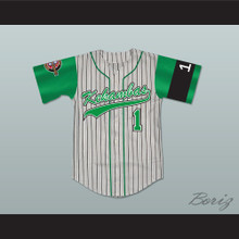 Jarius 'G-Baby' Evans 1 Kekambas Baseball Jersey Includes ARCHA Patch and G-Baby Memorial Sleeve