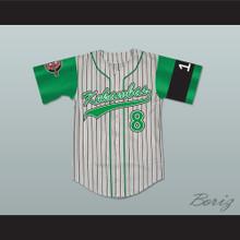 Kofi Evans 8 Kekambas Baseball Jersey Includes ARCHA Patch and G-Baby Memorial Sleeve