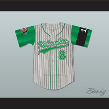 Kofi Evans 8 Kekambas Baseball Jersey Hardball Includes ARCHA Patch and G-Baby Memorial Sleeve