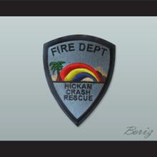 Set of 5 Fire Dept Hickam Crash Rescue Patches