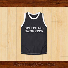Spiritual Gangster Basketball Jersey by Morrissey&Macallan