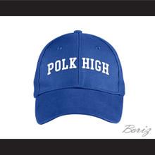 Polk High School Blue Baseball Hat Married With Children