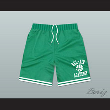 Bel-Air Academy Green Basketball Shorts
