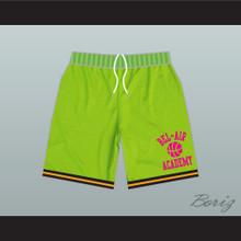 Bel-Air Academy Neon Green Basketball Shorts