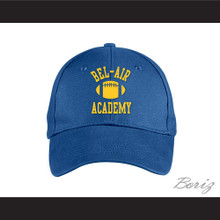 Bel-Air Academy Football Blue Baseball Hat The Fresh Prince of Bel-Air