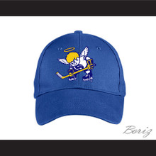 WHA Minnesota Fighting Saints Blue Baseball Hat